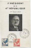 POLITIQUE Congres De Versailles PRESIDENT 4ème REPUBLIQUE  VINCENT AURIOL - Personnages
