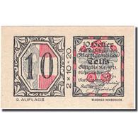 Billet, Autriche, Telfs, 10 Heller, Fleur, 1921, 1921-01-31, SPL, Mehl:FS 1061a - Autriche