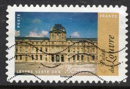 2015 Palais Du Louvre Valeur Faciale : 0,68€ Timbre Oblitéré Architecture Renaissance En France - France