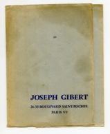 Piece Sur Le Theme De Protege Cahier - Librairie Joseph Gilbert - Bld St Michel Paris - Protège-cahiers