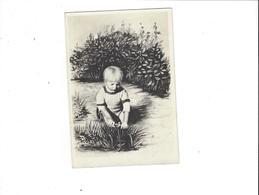 CARTE PHOTO  ENFANT JOUANT  AVEC SA PETITE VOITURE   ****  A SAISIR  ***** - Jeux Et Jouets