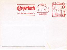 Niederlande Freistempel Venlo - Spedition Gerlach - Meterstamp - Poststempel - Freistempel