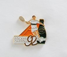 Pin's Arthus Bertrand Roland Garros 92 Perrier - Arthus Bertrand