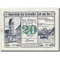 Billet, Autriche, Zell Am See, 20 Heller, Château, 1920 SPL FS 1270 II - Autriche