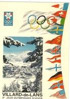 Cpsm Gf - VILLARD DE LANS - Xe Jeux Olympiques D Hiver 199 - Villard-de-Lans