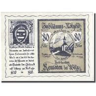 Billet, Autriche, KEMATEN, 80 Heller, Eglise, 1921, 1921-01-31, SPL, Mehl:FS 432 - Autriche