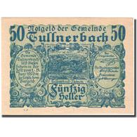 Billet, Autriche, Tullnerbach, 50 Heller, Paysage, 1920, 1920-06-15, SPL FS 1084 - Autriche