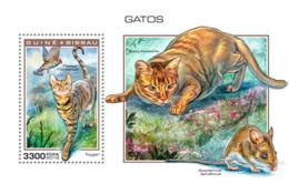 Guinea Bissau   2018  Fauna  Cats   S201901 - Guinea-Bissau