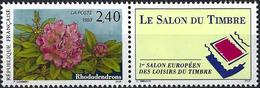 France 1993 - Mi 2994 - YT 2849 ( Flowers : Rhododendrons ) MNH** + Label - Frankreich