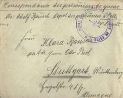 WWI PRIGIONIERI POW CAMP CETTE SETE FRANCIA 1916 GERMAN POW STUTTGART - 1900-44 Victor Emmanuel III.
