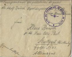 WWI PRIGIONIERI POW CAMP CETTE SETE FRANCIA 1915 GERMAN POW STUTTGART  BIS - 1900-44 Victor Emmanuel III.