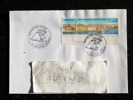 SOLUTRE POUILLY - SAONE ET LOIRE - RAHAN EXPOSITION 2002 CACHET COMMEMORATIF SUR YT 3489 MARSEILLE - Poststempel (Briefe)