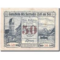 Billet, Autriche, Zell Am See, 50 Heller, Château, 1920-10-31, SUP FS 1270 II - Autriche