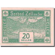 Billet, Autriche, Zell Am See, 20 Heller, Montagne 1920-08-31, SPL FS 1270I - Autriche
