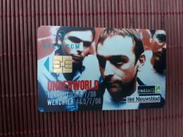 Underworld Phonecard Belgium Used Rare - Belgium