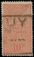 O FRANCE - Colis Postaux - 2, Dentelé 13.5 (dents Courtes): 10c. Rouge - Colis Postaux