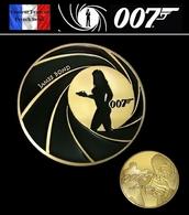 1 Pièce Plaquée OR ( GOLD Plated Coin ) - James Bond 007 Daniel Craig - Monnaies