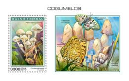 Guinea Bissau   2018  Mushrooms   S201901 - Guinea-Bissau