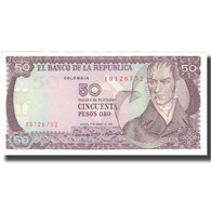 Billet, Colombie, 50 Pesos Oro, 1986, 1986-01-01, KM:425b, SPL - Colombie