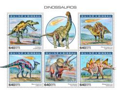 Guinea Bissau   2018    Dinosaurs    S201901 - Guinea-Bissau