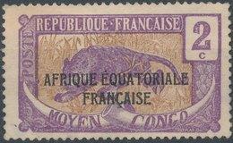 FRANCE COLONIE - Afrique Equatoriale Francaise - France (ex-colonies & Protectorats)