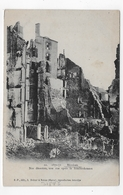 MEZIERES - N° 20 - GUERRE DE 1870 / 1871 - UNE RUE APRES LE BOMBARDEMENT - CPA PRECURSEUR NON VOYAGEE - Frankrijk