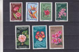 Fleurs - Cameroun - Yvert 422 / 4 + PA 81 / 83 ** - MNH - Valeur 10 Euros - Camerun (1960-...)