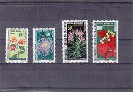 Fleurs - Cameroun - Yvert 481 / 82 + PA 155 / 56 ** - MNH - Valeur 7,50 Euros - Kamerun (1960-...)