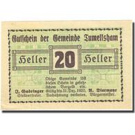 Billet, Autriche, Tumeltsham, 20 Heller, Valeur Faciale 1920-12-31 SPL FS 1085Ia - Autriche