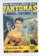 Piece Sur Le Theme De Dessin De Michel Gourdon Publie En 1957 - Fantomas - Mariage De Fantomas - Gourdon