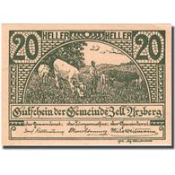 Billet, Autriche, Zell Arzberg, 20 Heller, Agriculteur 1920-12-31 SPL FS 1273a - Autriche