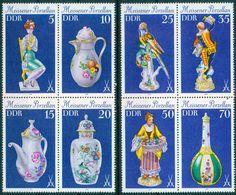 DDR 1979 / MiNr.   2464 - 2471  2 Viererblocks    ** / MNH   (r155) - [6] República Democrática