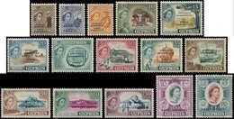 * CHYPRE - Poste - 171/85, Complet 15 Valeurs Surcharges - Chypre