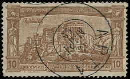 O GRECE - Poste - 112, Cachet Central: 10d Jeux Olympiques 1896 - Grèce