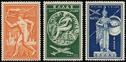 ** GRECE - Poste Aérienne - 66/68, Otan - Grèce