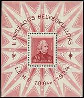 * HONGRIE - Blocs Feuillets - 1, Liszt - Hongrie
