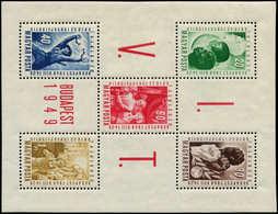 ** HONGRIE - Blocs Feuillets - 21, Festival De La Jeunesse 1949 - Hongrie