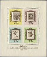 ** HONGRIE - Blocs Feuillets - 42, Non Dentelé En Croix Au Centre: JDT 1962 - Hongrie