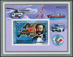 ** HONGRIE - Blocs Feuillets - 153a, Non Dentelé: Dunant Et Croix Rouge - Hongrie