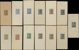 EPA SERBIE - Poste - 60/69, Série De 13 épreuves Du Poinçon Sans Faciale, Couleurs Diverses, Numérotées (1-3-5-6-16-18-1 - Serbie