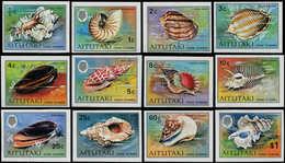 ** AITUTAKI - Poste - 95/106, Non Dentelés, (tirage 150): Coquillages - Aitutaki