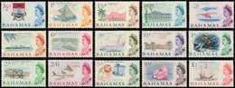 ** BAHAMAS - Poste - 193/207, Complet 15 Valeurs: Série Courante 1965 - Bahamas (1973-...)