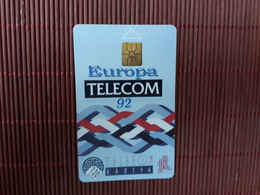 Phonecard Hongaria 120 Units Europa Telecom 92 (Mint,Neuve) 2 Scans Rare - Hungary