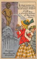 Manneken-Pis Humoristique - Ed. Albert N° 13 - Beroemde Personen
