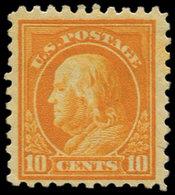 * ETATS UNIS - Poste - 208B, Dentelé 10: 10c. Orange - United States