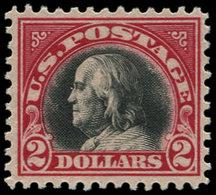 * ETATS UNIS - Poste - 222, 2$ Carmin Et Noir - United States