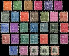 ** ETATS UNIS - Poste - 368/399, 32 Valeurs, Complet. (Rare) - United States
