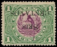 * GUATEMALA - Poste - 157, Surcharge Renversée: 6c/1c. Quetzal - Guatemala
