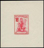 ** GUATEMALA - Poste - 368, épreuve Gommée En Rouge: 4c. Camposeco, Footballeur - Guatemala
