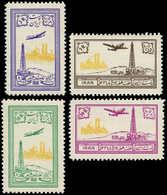 * IRAN - Poste Aérienne - 79/82, Puits De Pétrole 1953 - Iran